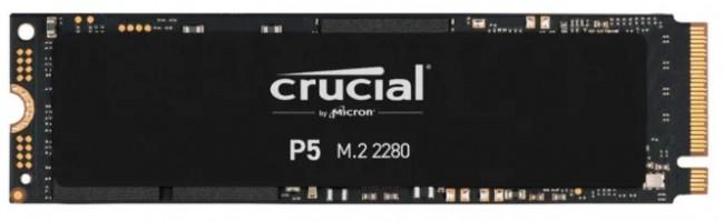 Crucial P5 M.2 PCI-e NVMe 500GB - zdjęcie główne