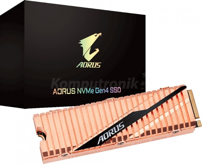 Gigabyte AORUS M.2 Gen4 PCIe X4 NVMe 2TB - zdjęcie główne