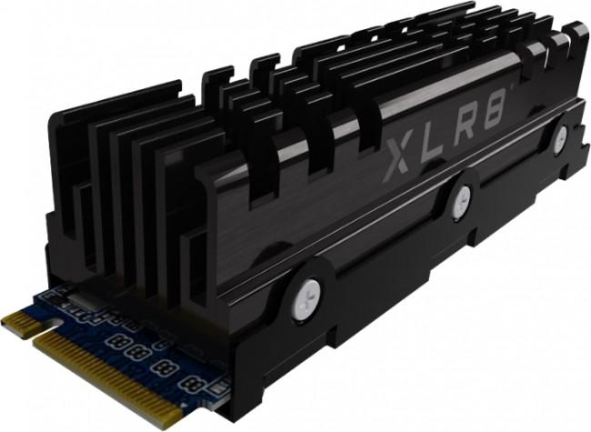 PNY XLR8 CS3040 M.2 PCIe NVMe 2TB (z radiatorem) - zdjęcie główne