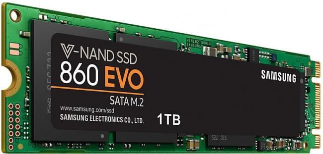 Samsung 860 EVO m.2 1TB - zdjęcie główne