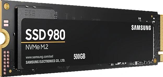Samsung 980 M.2 PCIe NVMe 500GB - zdjęcie główne