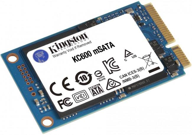 Kingston mSATA KC600 1024GB - zdjęcie główne