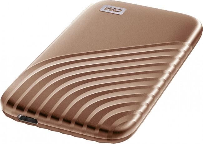 WD My Passport SSD 2TB złoty - zdjęcie główne