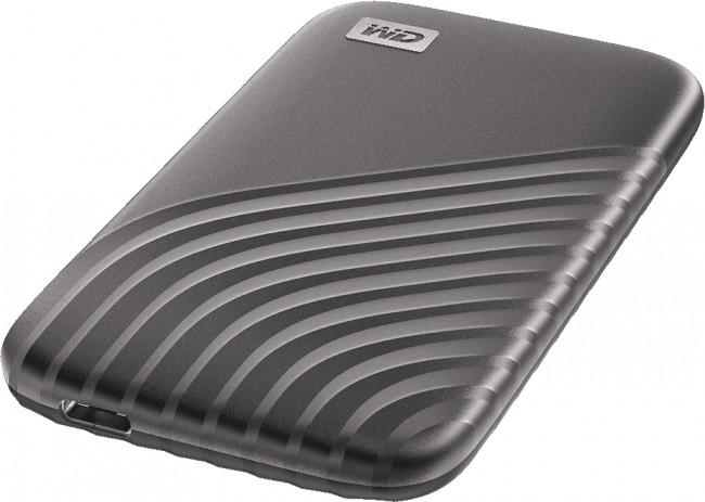 WD My Passport SSD 500GB szary - zdjęcie główne