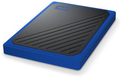 WD My Passport Go 1TB niebieski - zdjęcie główne