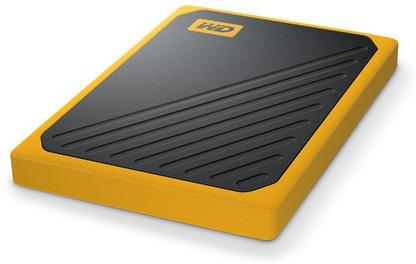 WD My Passport Go 1TB żółty - zdjęcie główne