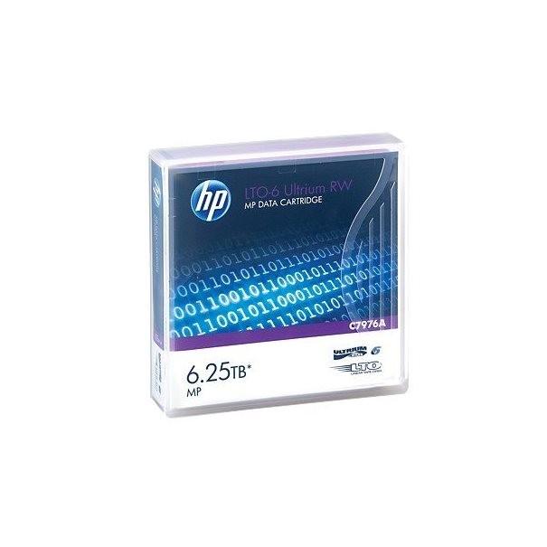 HPE Taśma LTO-6 Ultrium 6.25TB RW Data Cartridge - zdjęcie główne