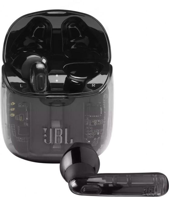 JBL Tune 225 TWS Ghost Czarne - zdjęcie główne