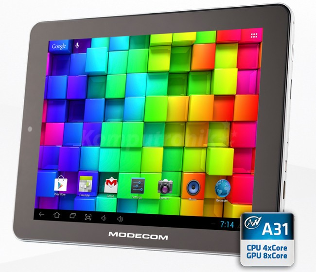"MODECOM Tablet 8"" FreeTAB 8014 IPS X4"