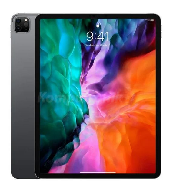 """Apple iPad Pro 12.9"""" (2021) Wi-Fi+Cellular 2TB Gwiezdna szarość - zdjęcie główne"""