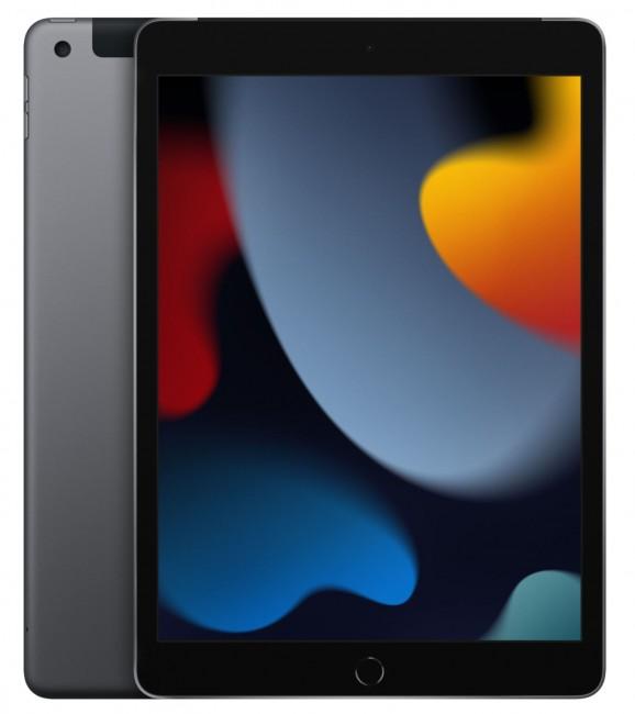 """Apple iPad 10.2"""" A13 Wi-Fi + Cellular 64GB Gwiezdna Szarość (9.gen) - zdjęcie główne"""
