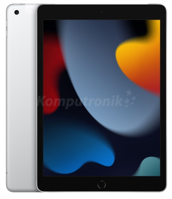"""Apple iPad 10.2"""" A13 Wi-Fi + Cellular 256GB Srebrny (9.gen) - zdjęcie główne"""