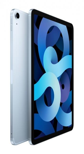 """Apple New iPad Air 10.9"""" Wi-Fi + Cellular 256GB Błękitny (4.gen) - zdjęcie główne"""