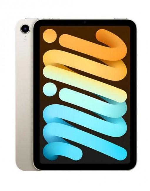 Apple iPad mini A15 256GB Wi-Fi Księżycowa Poświata (Starlight) - zdjęcie główne
