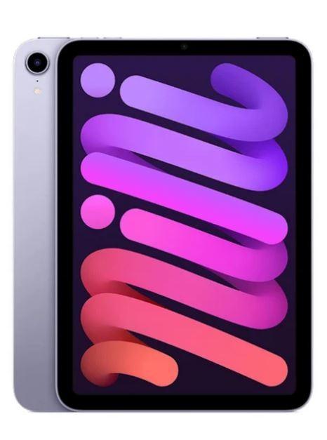 Apple iPad mini A15 256GB Wi-Fi Fioletowy - zdjęcie główne