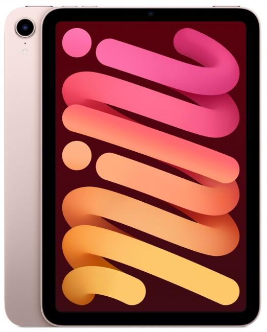 Apple iPad mini A15 256GB Wi-Fi Różowy - zdjęcie główne