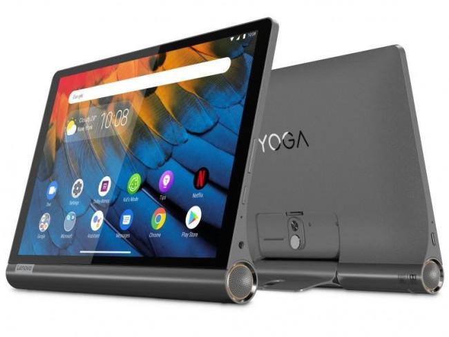 Lenovo Yoga Smart Tab (YT-X705L) (ZA530003PL) szary - zdjęcie główne