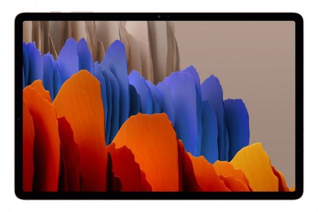 Samsung Galaxy Tab S7+ 12.4 5G 128GB miedziany (T976) - zdjęcie główne