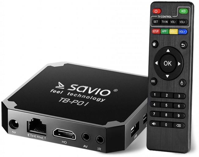 Savio Smart TV Box Premium One - zdjęcie główne