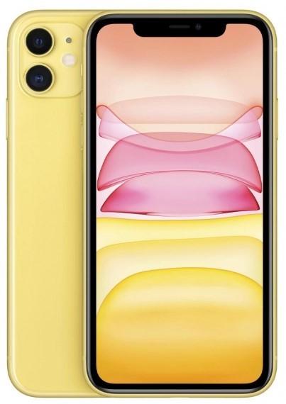 Apple iPhone 11 128GB Żółty - zdjęcie główne