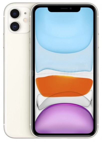 Apple iPhone 11 256GB Biały - zdjęcie główne