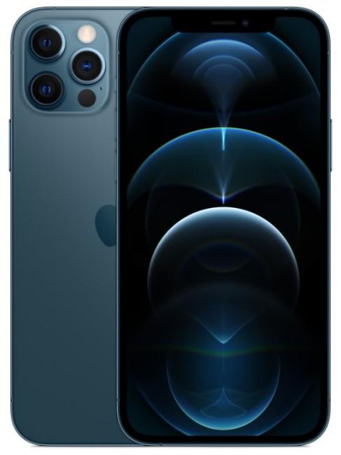 Apple iPhone 12 Pro Max 256GB Pacyficzny - zdjęcie główne