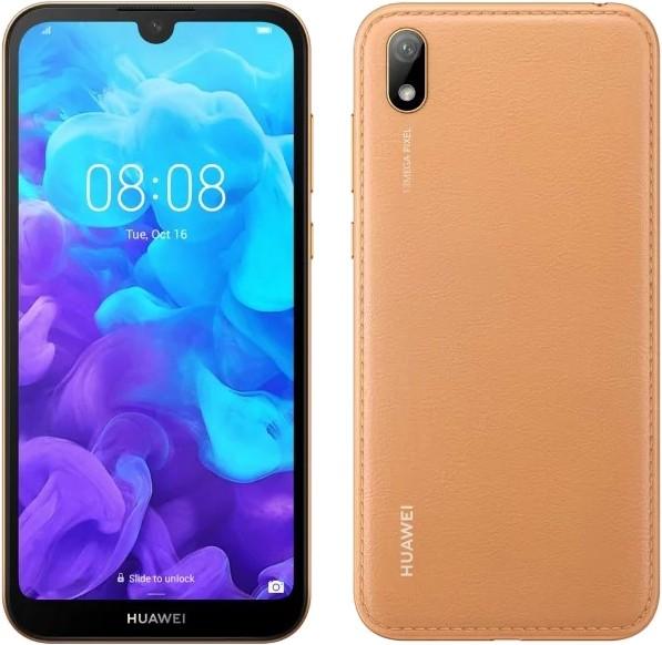 36ca520220e3b5 Huawei Y5 2019 Dual SIM brązowy | cena, raty - sklep Komputronik.pl