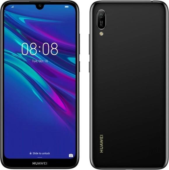 Huawei Y6 2019 Dual SIM czarny - zdjęcie główne