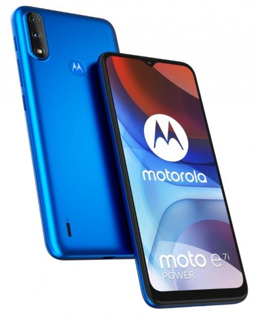 Motorola Moto E7i Power Tahiti Blue - zdjęcie główne