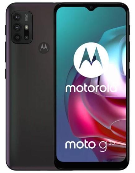 Motorola Moto G30 6/128GB Czarny - zdjęcie główne