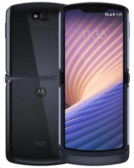 Motorola RAZR 5G 8/256GB Polished Graphite - zdjęcie główne