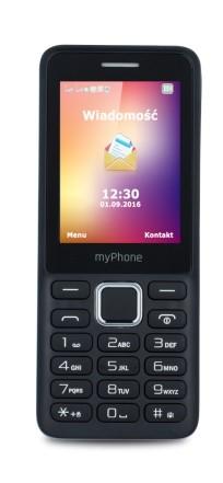myPhone 6310 Dual SIM czarny - zdjęcie główne