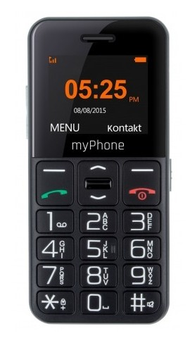 myPhone Halo Easy czarny - zdjęcie główne