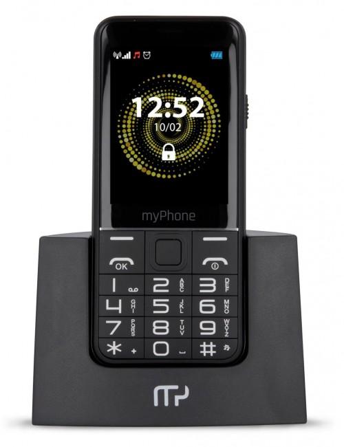myPhone Halo Q+ (3G) czarny - zdjęcie główne