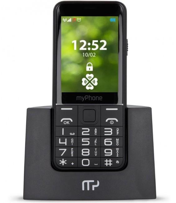 myPhone Halo Q+ 4family czarny - zdjęcie główne
