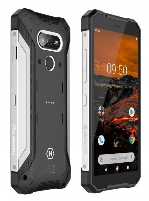 myPhone Hammer Explorer srebrny - zdjęcie główne