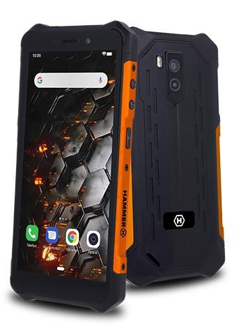 myPhone Iron 3 Dual SIM pomarańczowy - zdjęcie główne
