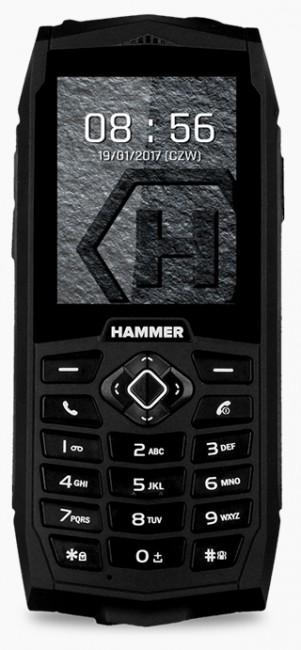 myPhone Hammer 3 Dual SIM czarny - zdjęcie główne