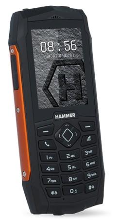 myPhone Hammer 3 Dual SIM pomarańczowy - zdjęcie główne