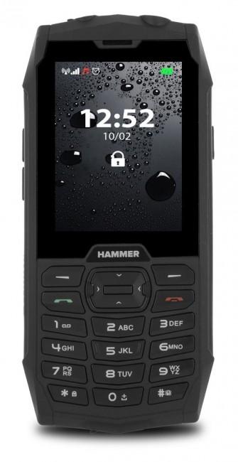 myPhone Hammer 4 Dual SIM czarny - zdjęcie główne