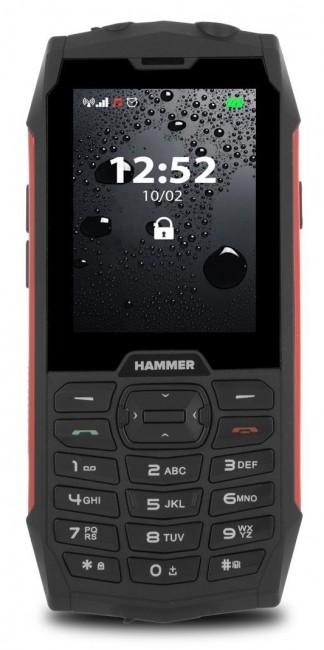 myPhone Hammer 4 Dual SIM czerwony - zdjęcie główne