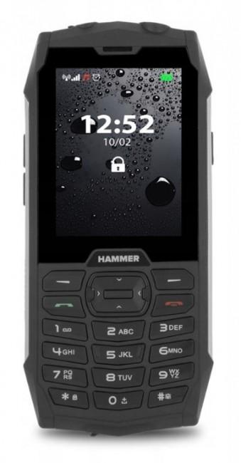 myPhone Hammer 4+ Dual SIM srebrny - zdjęcie główne