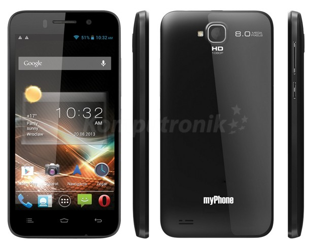 myPhone NEXT black