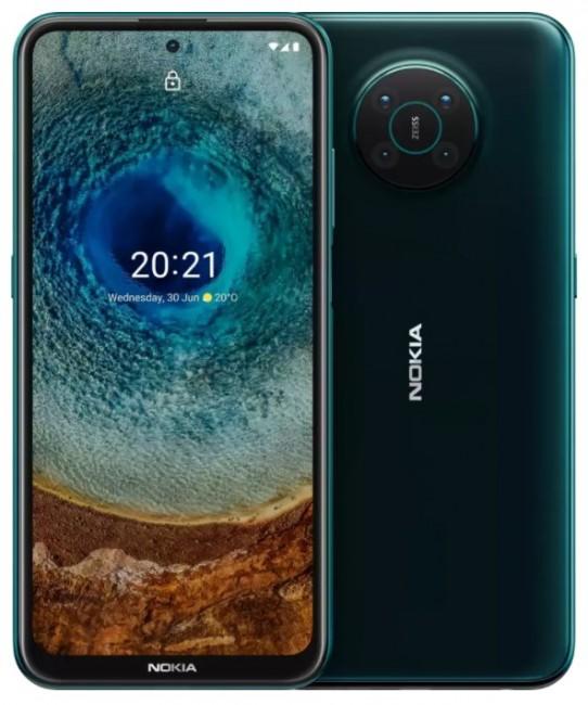 Nokia X10 5G Dual SIM 6/64 Zielony - zdjęcie główne