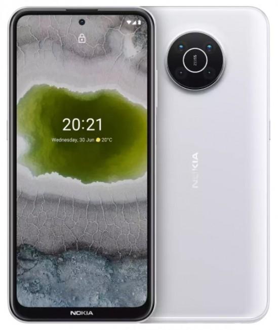 Nokia X10 5G Dual SIM 6/64 Biały - zdjęcie główne