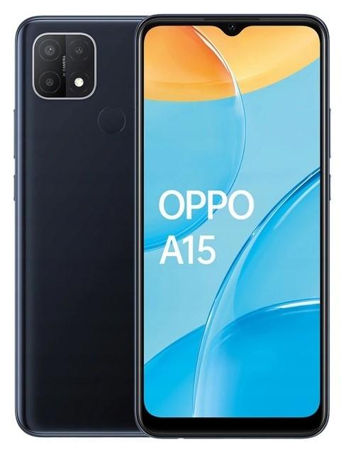 OPPO A15 2/32 Dual SIM czarny - zdjęcie główne