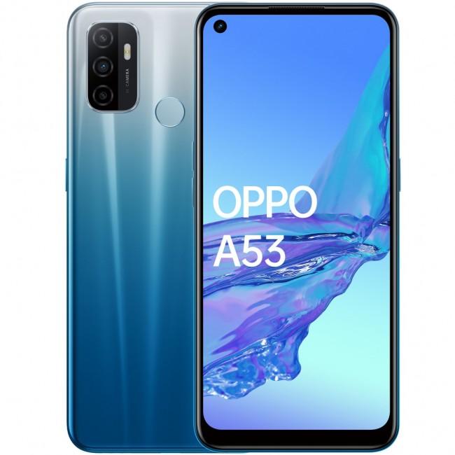 OPPO A53 4/128 Dual SIM błękitny - zdjęcie główne