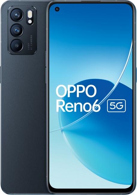 OPPO Reno 6 5G 8/128 Czarny - zdjęcie główne