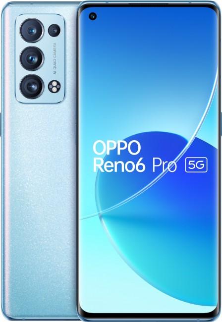 OPPO Reno 6 PRO 5G 12/256 Błękitny - zdjęcie główne