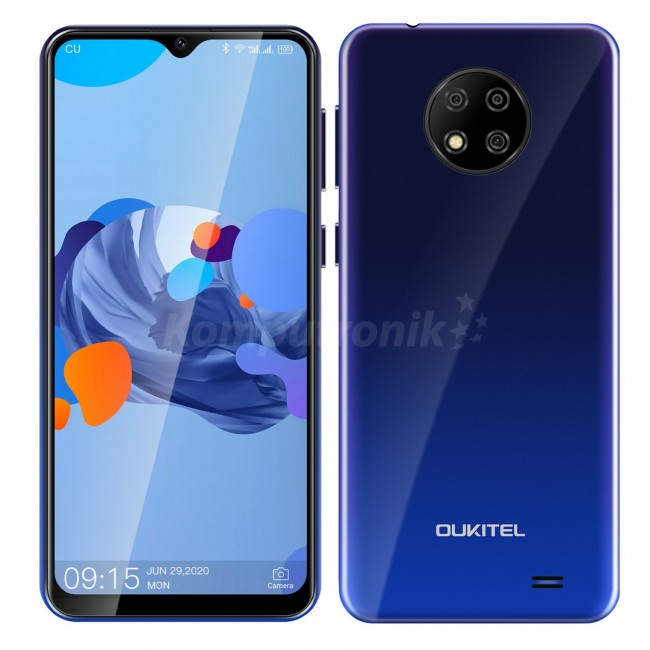 Oukitel C19 2/16GB Dual SIM niebieski - zdjęcie główne